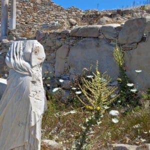 Η κλιματική αλλαγή απειλεί τις αρχαιότητες της Δήλου – Τι λένε οι επιστήμονες