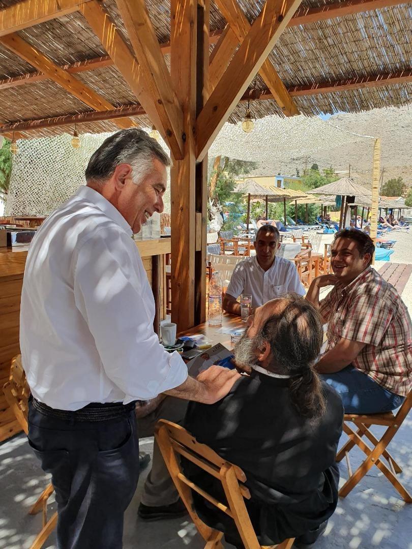 Βασίλης Α. Υψηλάντης «Να ενισχυθούν οι λιμενικές υποδομές στη Σύμη ώστε να υπάρξει ανάπτυξη του θαλάσσιου τουρισμού»