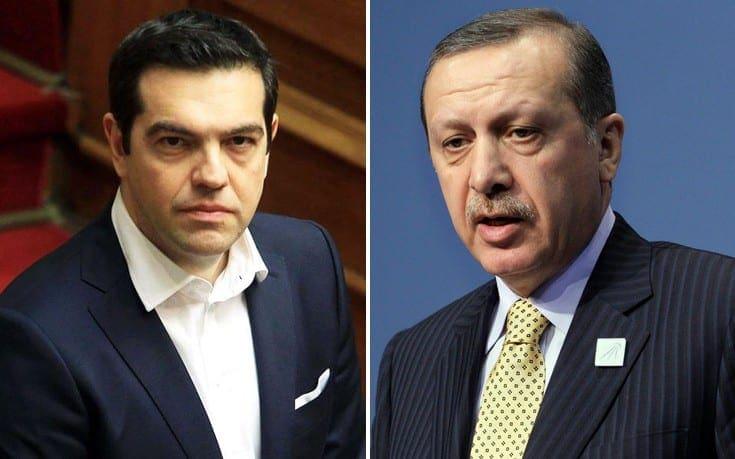 Αυστηρή απάντηση Τσίπρα σε Ερντογάν: Οι παραβιάσεις να σταματήσουν εδώ