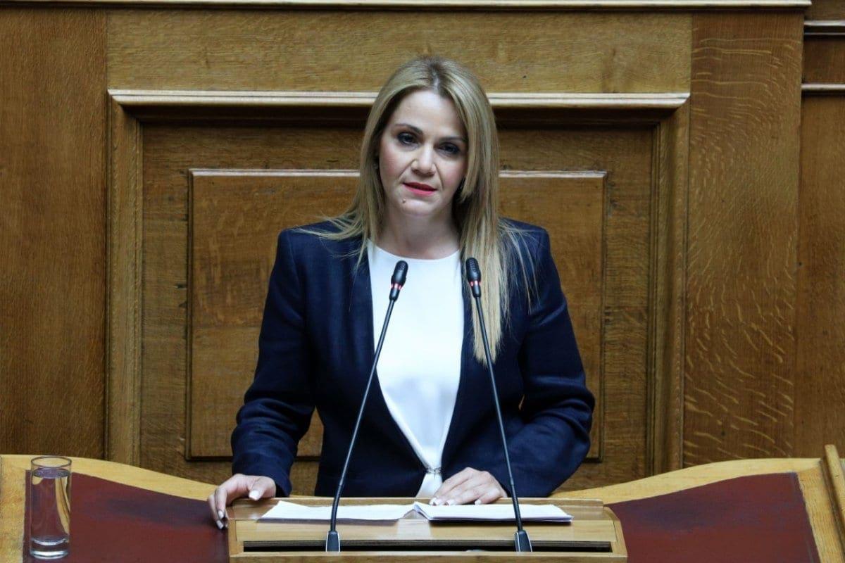 Η Μίκα Ιατρίδη Αναπληρώτρια Γενική Γραμματέας της Κοινοβουλευτικής Ομάδας της Ν.Δ.