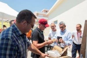Σύγχρονο εξοπλισμό παρέδωσε στις εθελοντικές οργανώσεις πολιτικής προστασίας η Περιφέρεια Νοτίου Αιγαίου