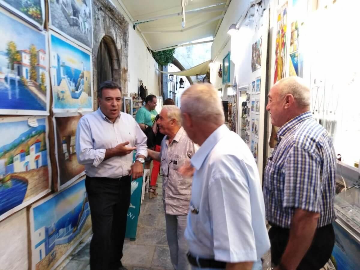 «Ο στόχος είναι να αναβαθμιστούν οι υποδομές στους αρχαιολογικούς χώρους της Δωδεκανήσου, να συνδέσουμε τον πολιτισμό με τον τουρισμό»
