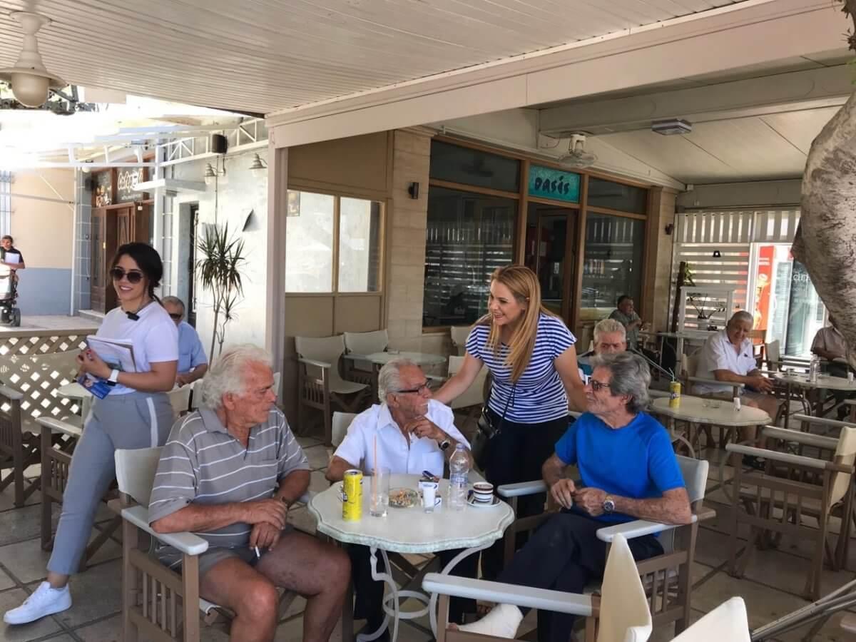 Μίκα Ιατρίδη από την Κάλυμνο: «Με τους συμπατριώτες μου στην Κάλυμνο χτίζουμε μια δυνατή σχέση εμπιστοσύνης και πριν, αλλά και μετά τις εκλογές. Στις 8 Ιουλίου ξημερώνει μια καινούργια φωτεινή μέρα για την Κάλυμνο, τα Δωδεκάνησα και την Ελλάδα!»