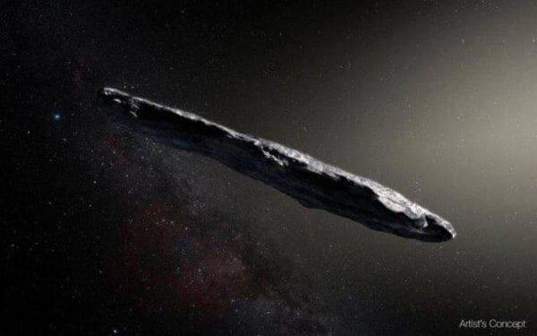 Λύθηκε το μυστήριο με το «διαστημικό πούρο»