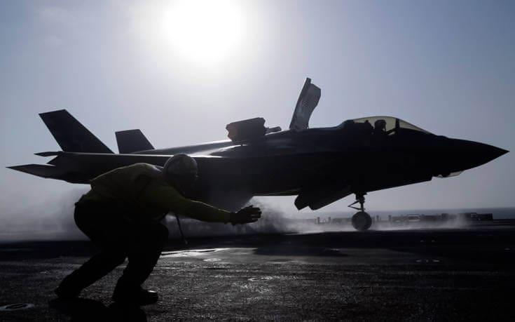 Πεντάγωνο: Δεν θα επιτραπεί στην Τουρκία να έχει συγχρόνως τα F-35 και τους S-400