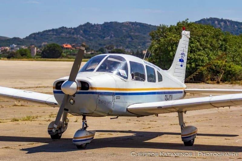 Αεροσκάφος της αερολέσχης Ρόδου εντόπισε την φωτιά στην Λίνδο