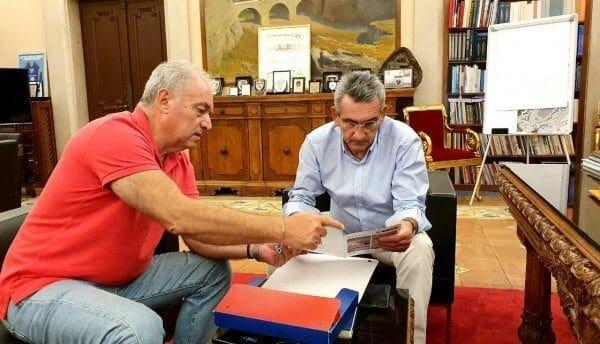 Συνεργασία του Περιφερειάρχη με τον Πρόεδρο του ΟΑΣΠ, Ευθύμιο Λέκκα, ενόψει του νέου θεσμικού πλαισίου για την πολιτική προστασία