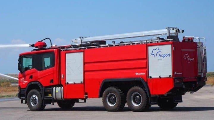 Νέα πυροσβεστικά οχήματα στο αεροδρόμιο της Κω και της Ρόδου