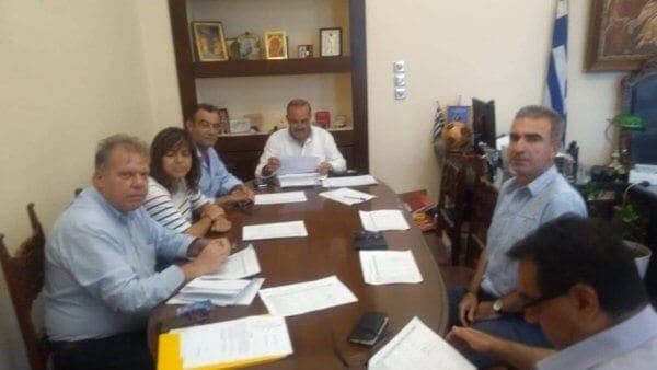 Ενέκρινε η Εκτελεστική Επιτροπή το Τεχνικό Πρόγραμμα του Δήμου Ρόδου για το 2020 με €22.351.008 και 127 έργα