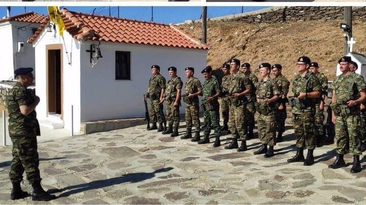 Επίσκεψη αρχηγού Γενικού Επιτελείου Στρατού σε Αγαθονήσι, Λειψούς και Αρκιούς