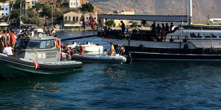 Σύμη: Παρουσιάστηκε βλάβη σε πλοίο με 371 επιβάτες