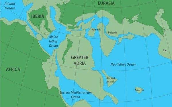 Η χαμένη ήπειρος που είναι θαμμένη και κάτω από την Ελλάδα