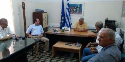 Συνάντηση του Φιλ. Ζαννετίδη με εκπροσώπους της ΕΑΣΔ και της ΚΑΪΡ για το Κέντρο Νοτιοαιγαιοπελαγίτικης Γαστρονομίας