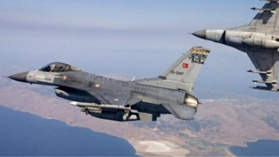 33 τουρκικές παραβιάσεις σήμερα στο Αιγαίο