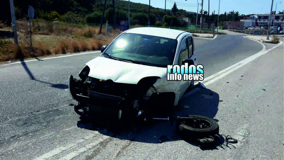 Συνεχίζονται με αμείωτους ρυθμούς τα τροχαία ατυχήματα στο νησί μας