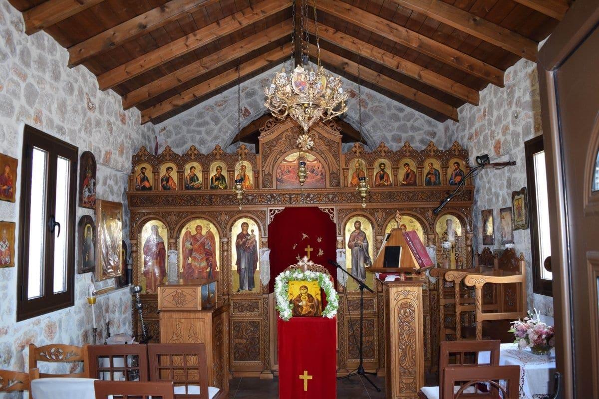 Πανήγυρις Παναγίας Μυρτιδιώτισσας, Αγίας Θέκλας και Οσίου Κόπριος στην Παστίδα