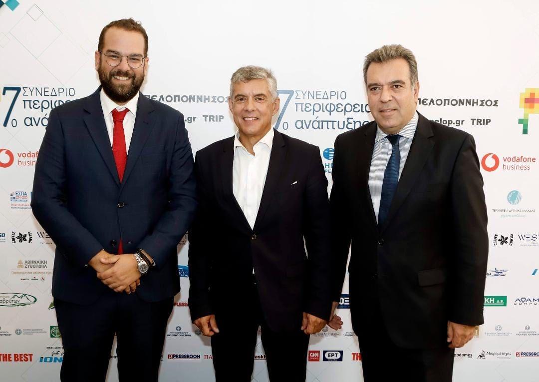 Σειρά επαφών του Υφυπουργού Τουρισμού, κ. Μάνου Κόνσολα, με στελέχη της αυτοδιοίκησης και του τουρισμού στην Πάτρα