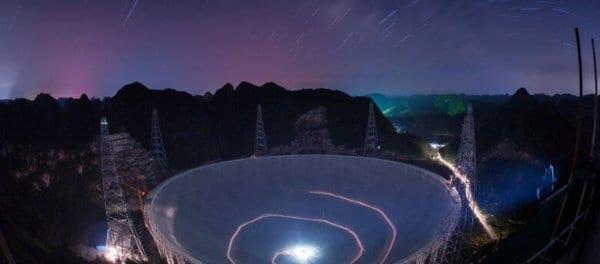 Κινεζικό τηλεσκόπιο έλαβε μυστηριώδες σήμα από το διάστημα