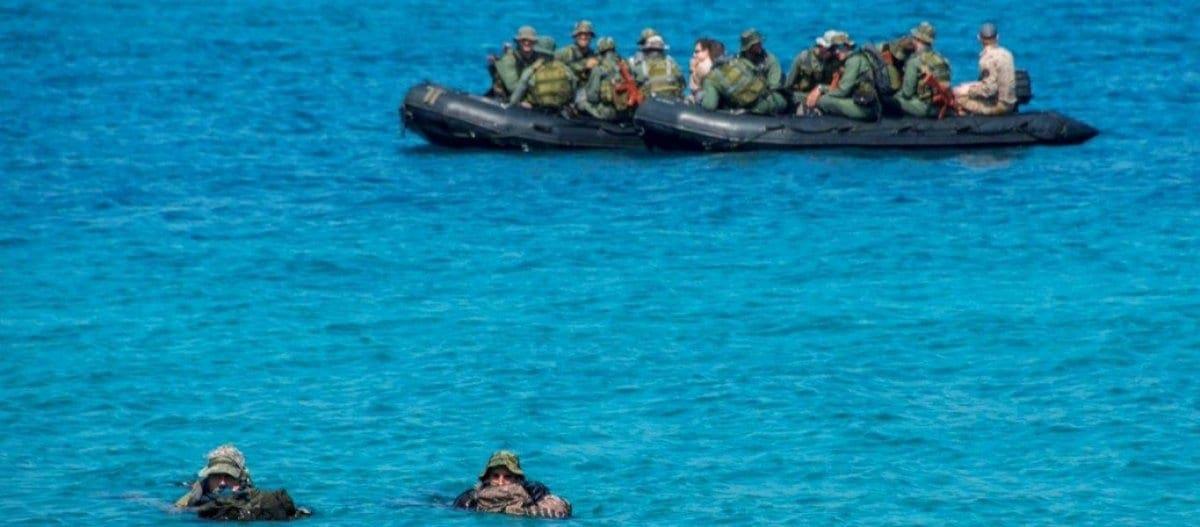 Λέρος: Από την θάλασσα έγινε η «έξοδος» του οπλισμού ; – Το συμβάν με τους Γερμανούς «κολυμβητές»