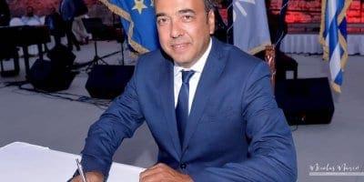 Ευχαριστήριο Δρα. Στέφανου Ι. Δράκου, για την ανακοίνωσή του  ως Αντιδημάρχου Πολιτιστικών Μνημείων και Υπηρεσίας Δόμησης,  καθώς και τον ορισμό του στην Επιτροπή Ποιότητας Ζωής