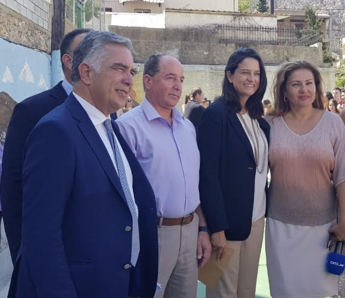Ο Βουλευτής Δωδεκανήσου Βασίλης Α. Υψηλάντης σε Λέρο και Κάλυμνο για την πρώτη ημέρα στα σχολεία και τον καθιερωμένο αγιασμό