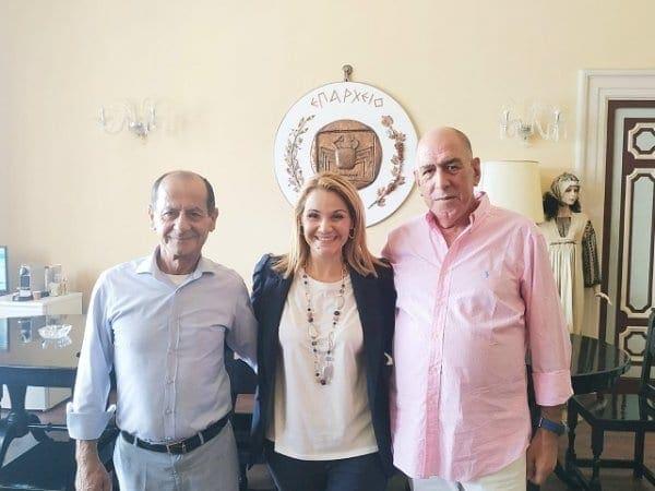 Η Μίκα Ιατρίδη στην Κω. Συνάντηση με Δήμαρχο, νυν και τέως Έπαρχο και Εκπροσώπους Επαγγελματικών Φορέων