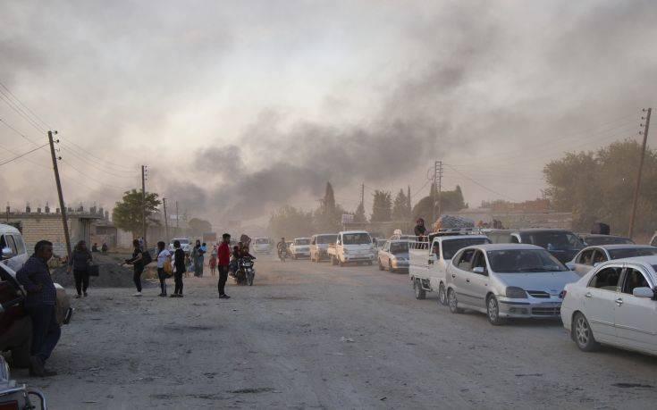 Οι κουρδικές δυνάμεις απέκρουσαν τουρκική χερσαία επίθεση στην πόλη Τελ Αμπιάντ