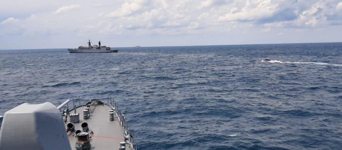 Yπερσυγκέντρωση ναυτικών δυνάμεων από Ελλάδα και Τουρκία ανατολικά της Καρπάθου
