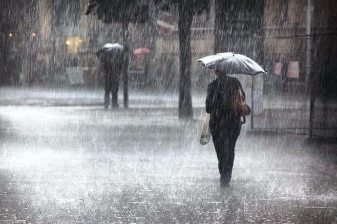 Έκτακτο δελτίο ΕΜΥ: 48ωρο με βροχές, καταιγίδες και πτώση της θερμοκρασίας
