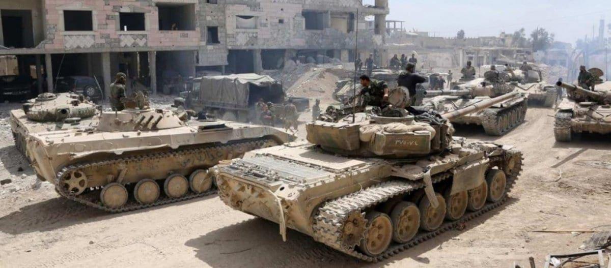Ο συριακός Στρατός μπήκε στην Μάνμπιτζ & φτάνει σε Κομπάνι και Ράκκα!
