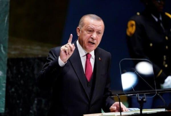 Ερντογάν : Μας ενδιαφέρει κάθε σπιθαμή στη Μεσόγειο, από το Αιγαίο έως τη Μαύρη Θάλασσα
