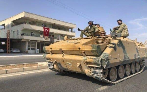 Ένας Τούρκος στρατιώτης σκοτώθηκε σε επίθεση των κουρδικών δυνάμεων στο Τελ Αμπιάντ