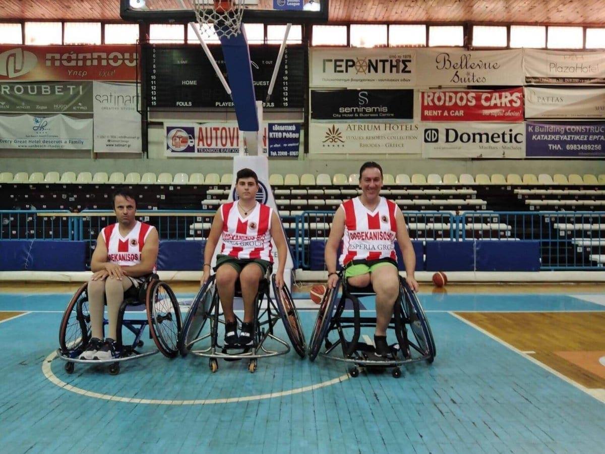 Με τρεις νέους παίκτες ενισχύεται η ομάδα Γ.Σ. Δωδεκάνησος