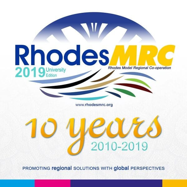 10o Διεθνές Συνέδριο Προσομοίωσης Περιφερειακών Διεθνών Οργανισμών Ρόδου