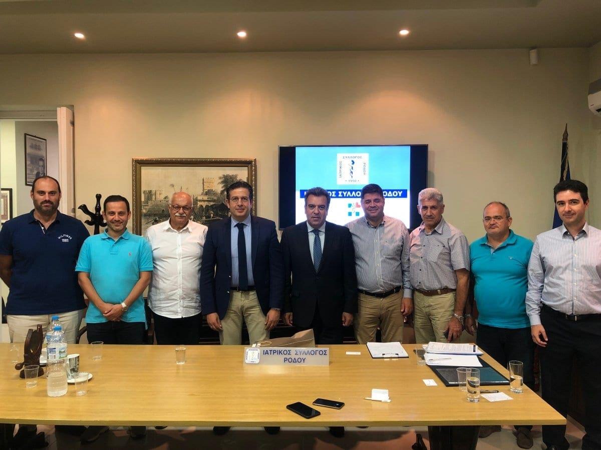 Συνάντηση Δ.Σ. Ι.Σ.Ρ. με τον Υφυπουργό Τουρισμού κ. Μάνο Κόνσολα