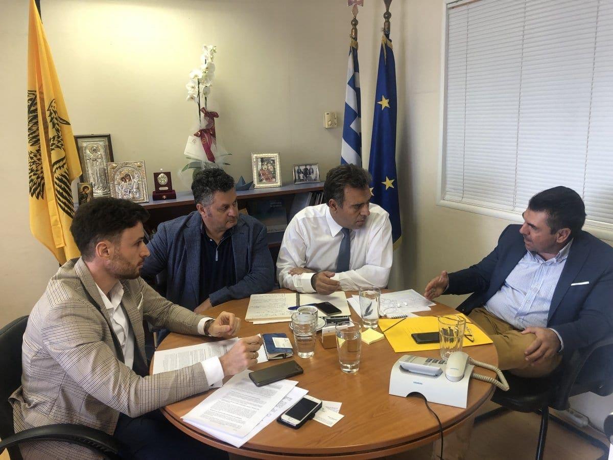 Συνάντηση του Yφυπουργού Τουρισμού κ. Μάνου Κόνσολα με τον Σύλλογο Αρχιτεκτόνων Δωδεκανήσου