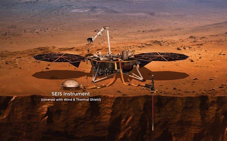 Θέλετε να ακούσετε τι ήχο κάνει ένας σεισμός στον… Άρη;