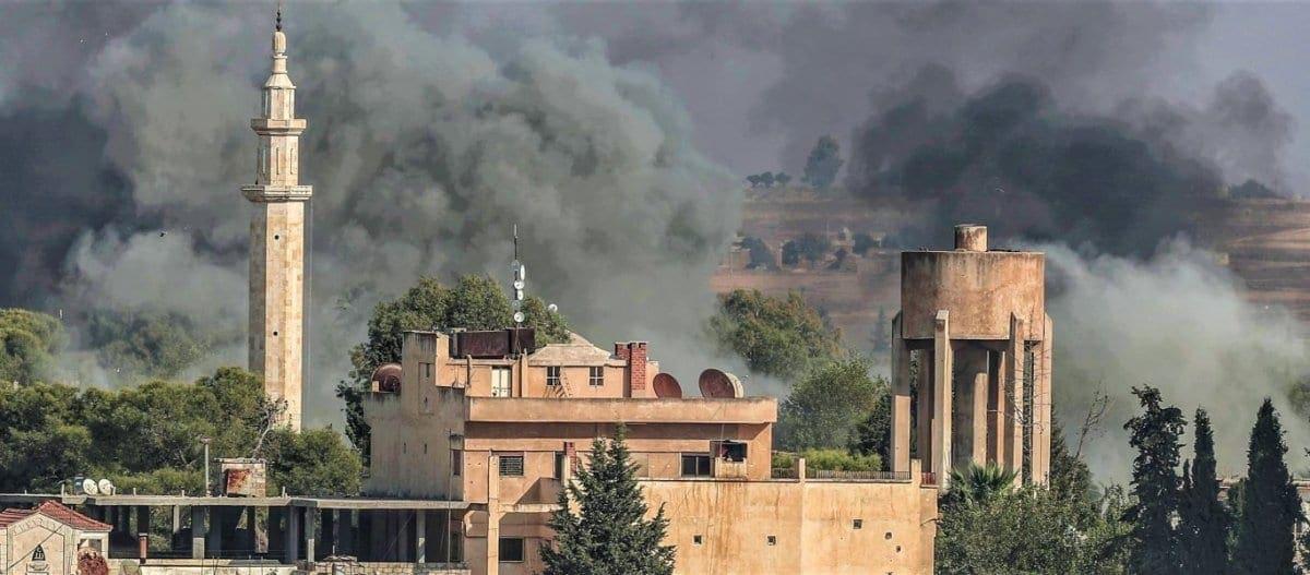 Οι Τούρκοι βομβάρδισαν «κατά λάθος» αμερικανικά στρατεύματα στην Συρία