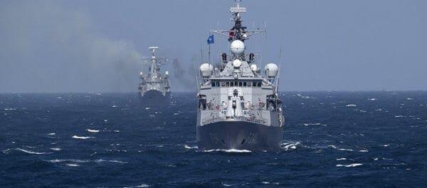 32 πολεμικά πλοία , F-16 και ελικόπτερα βγάζει η Τουρκία στη Μεσόγειο