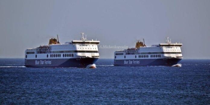 Το Blue Star 1 επιστρέφει στα Δωδεκάνησα και παίρνει τη θέση του Blue Star 2