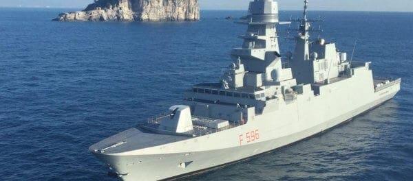 Ιταλική φρεγάτα FREMM κατέπλευσε στην Λάρνακα – Ρώμη: «Θα στηρίξουμε στρατιωτικά Ελλάδα και Κύπρο»