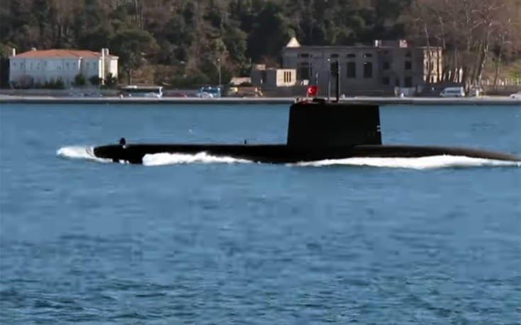 Υποβρύχιες επιχειρήσεις ετοιμάζει η Τουρκία δίπλα σε Οινούσσες και Φαρμακονήσι