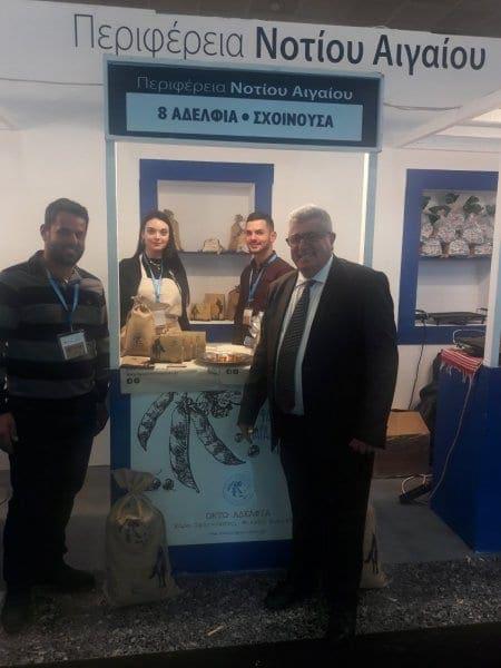 Εντυπωσίασαν οι παραγωγοί της Περιφέρειας στην EXPOTROF