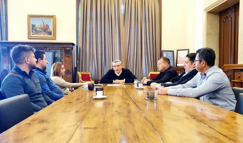 Συνάντηση του ΔΣ του ΣΕΕΜΠ με τον Περιφερειάρχη Νοτίου Αιγαίου
