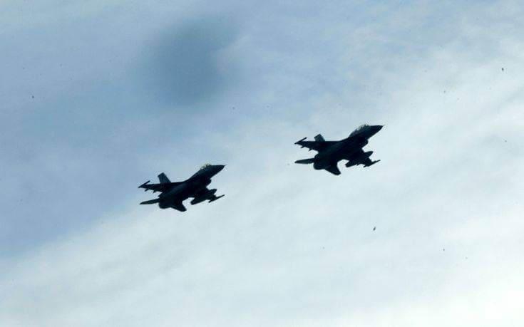 Νέες προκλήσεις στο Αιγαίο: Τουρκικά F-16 πέταξαν πάνω από Οινούσσες και Παναγιά