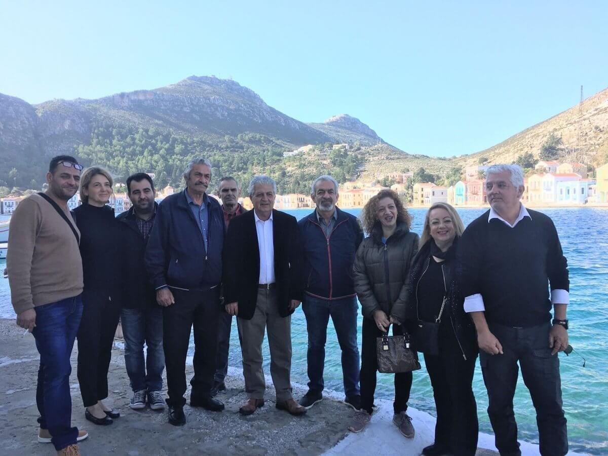 Στο ακριτικό Καστελλόριζο και στην ειρηνική Χάλκη, ο Κάλλιστος Διακογεωργίου