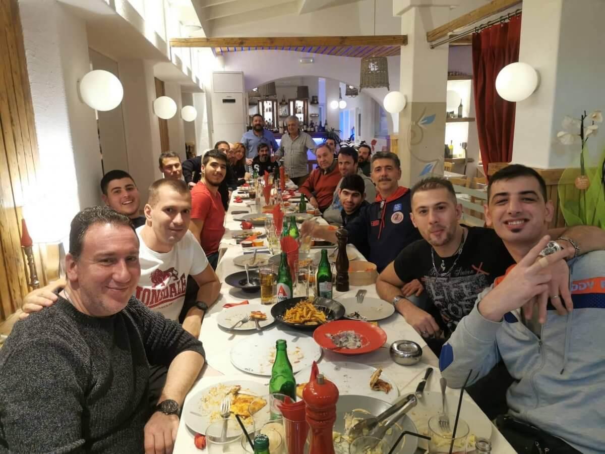 Δείπνο της ομάδας Γ.Σ Δωδεκάνησος μπάσκετ με αμαξίδιο