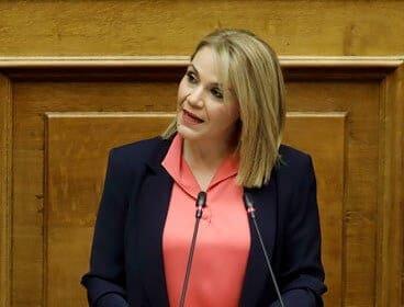 Νέα παρέμβαση στη Βουλή από τη Μίκα Ιατρίδη για τους δανειολήπτες της Συνεταιριστικής Τράπεζας Δωδεκανήσου