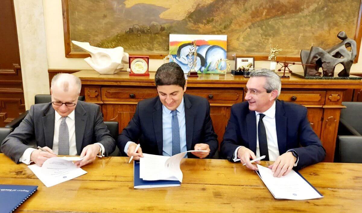 Μνημόνιο συνεργασίας για τον αθλητισμό υπέγραψαν Αυγενάκης, Χατζημάρκος και Καμπουράκης