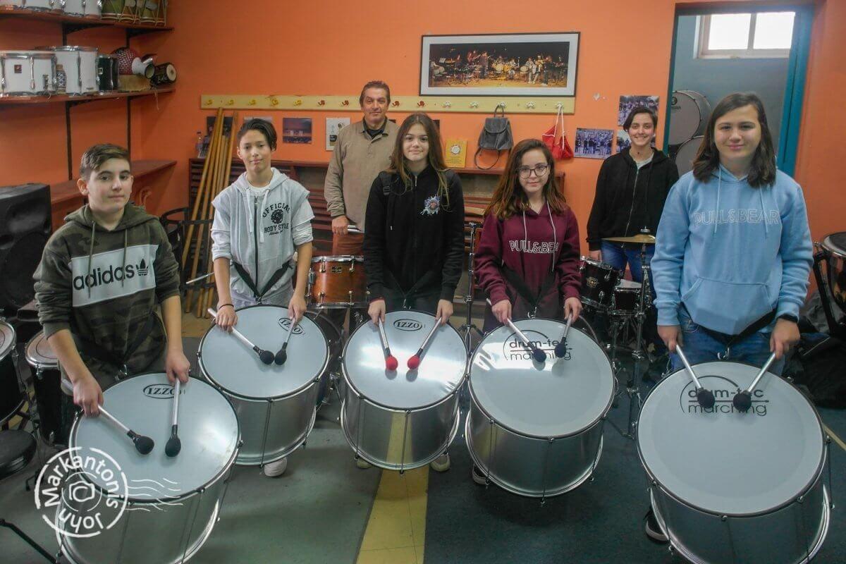 Νέα μουσικά όργανα και μικρές αίθουσες στο Μουσικό Σχολείο Ρόδου